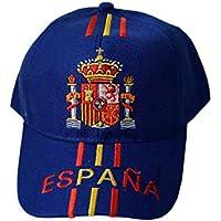Tianxiang Gorra con Escudo Bordado de España - Talla Adulto Ajustable -  100% aclylic 8a46dde977f