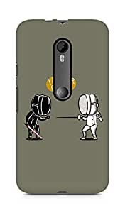 AMEZ Fencing Star Wars I Am Your Father Back Cover For Motorola Moto G3