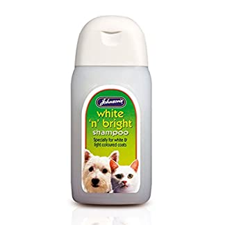 Johnson's 6 x Dog & Cat White 'n' Bright Shampoo Johnson's 6 x Dog & Cat White 'n' Bright Shampoo 41i1mAyhAoL