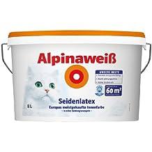Alpina Weiss Seidenlatex 8 L [Misc.]