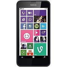 Nokia Lumia 630 Smartphone, Single SIM, Nero [Germania]