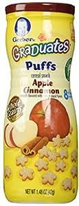 Gerber, Graduates Puffs, Pomme Cannelle, 1,48 oz (42 g)