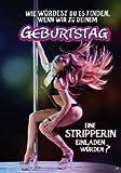 Musikkarten Sound mit Überraschung 017a zum Geburtstag eine Stripperin