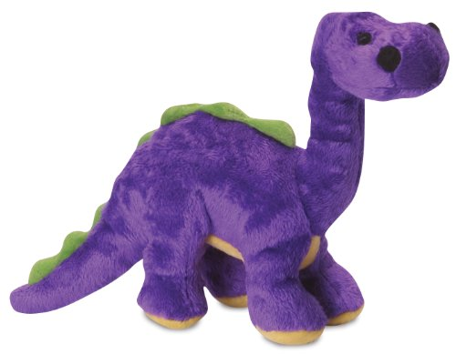 Quaker Pet Products GoDog Dinos Bruto With Chew Guard Small-Purple