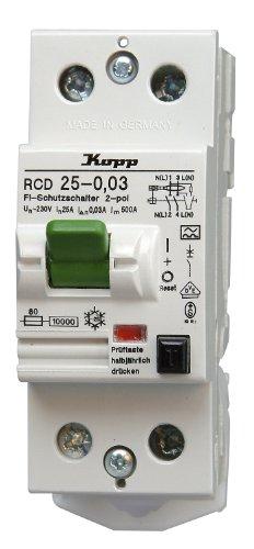 Kopp 752528081 - Interruptor diferencial