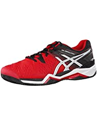 Asics - Gel Resolution 6 Clay, color negro, talla UK-11