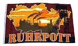 Fahne / Flagge Ruhrpott Silhouette NEU 90 x 150 cm