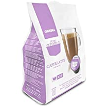 GIMOKA PURO AROMA CAFFELATTE, CÁPSULAS COMPATIBLES DOLCE GUSTO