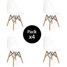 sillas rplica eames tower medidas xxx alto blanca pack de