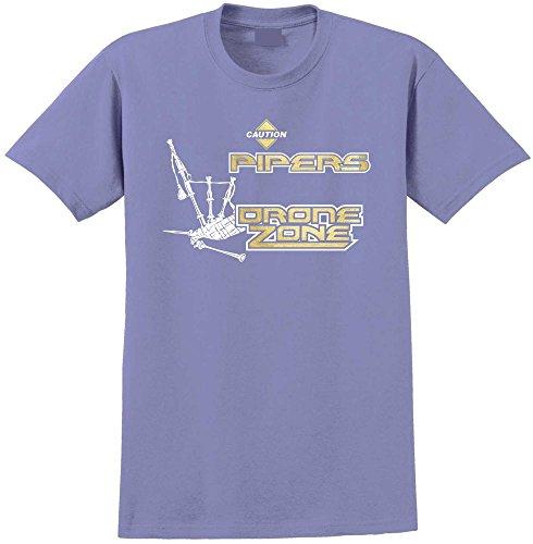 Drone Zone - Violett T Shirt Größe 81cm 32in Med 9-11 Jahr ()