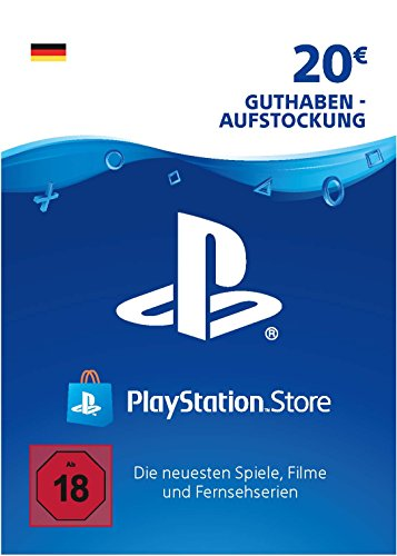 PSN Card-Aufstockung | 20 EUR | PS4, PS3, PS Vita Playstation Network Download Code - deutsches Konto (Ps Vita-ps3)