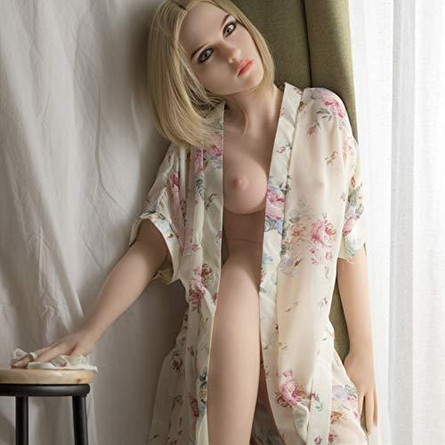158CM Sex Puppe Liebespuppen TPE Lebensecht Realdoll Love Blowjob Doll Jung und Rein Weiblich Sexpuppe für Männer Heiße Sexy Real Girl Realistic Skin Weich Brust Vagina-Anus-Oral