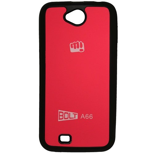Casotec TPU Back Case Cover for Micromax Bolt A66 - Pink  available at amazon for Rs.175