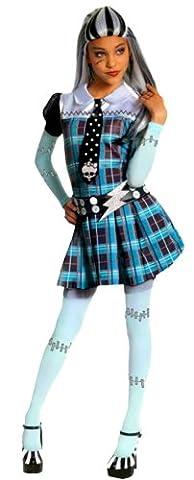 erdbeerloft -Mädchen Faschingskostüm Monster High Horror, blau, 8-10 Jahre