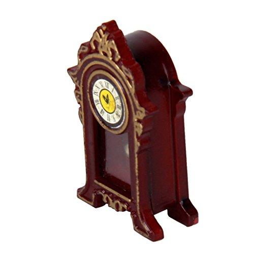 01:12 Casa Delle Bambole In Miniatura Di Legno Orologio Classico Scrivania