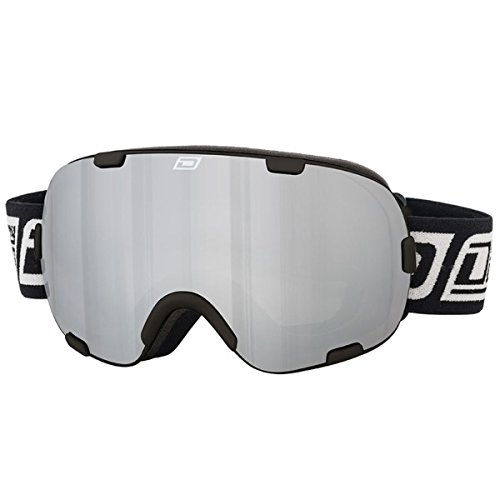 Dirty Dog Afterburner Skibrille, Rahmenlos, Schwarz/silberfarben
