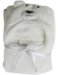 Couverture de bébé serviettes de bain doux animal Strandkorb Wrap Peignoirs Poncho bébé Enfants Garçons Filles 100*70CM