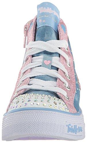 Rosa Centrino Danza Blu Skechers Mescola Toile Luce Cesti Ali pAxO8qw