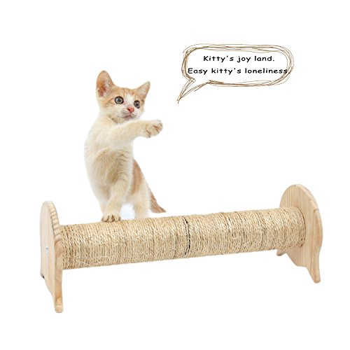SWEET DEVIL Katzenkratzbaum Katzenbaum Kratzsäule Kratztonne Möbel für Katzen Kätzchen Haustierprodukte 15 x 14 x 40 cm