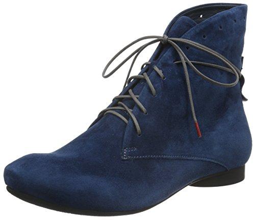 Think! Guad, Bottes Classiques femme Bleu - Blau (Navy/KOMBI 84)