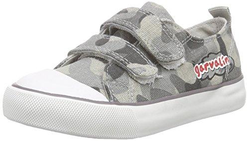 Garvalin 162375, Jungen Sneakers Grau (GRIS ESTAMPADO MILITAR)
