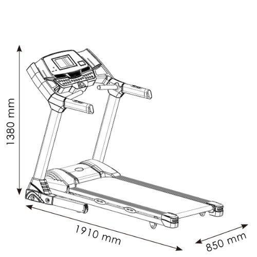Laufband Speedrunner 6000 Abbildung 3