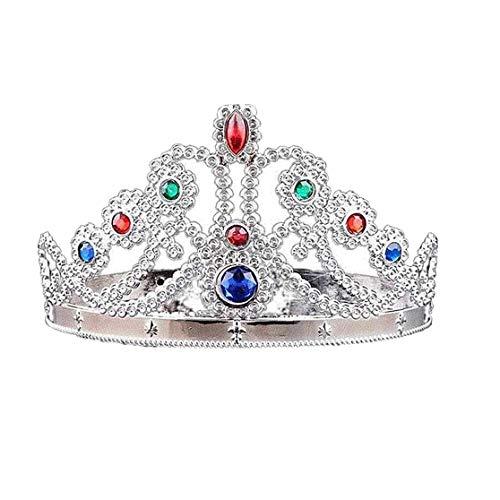 Royal Princess Kostüm - IUwnHceE Rollenspiel Crown Dress-Up Tiaras Und