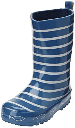 Be only Timouss - Botas de agua infantil, color bleu electrique, talla 25