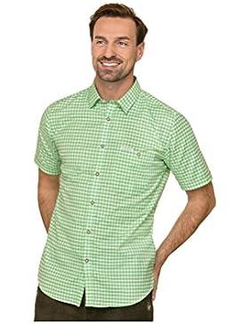 Michaelax-Fashion-Trade Stockerpoint - Herren Kurzarm Trachtenhemd in Verschiedenen Farben, Renko3