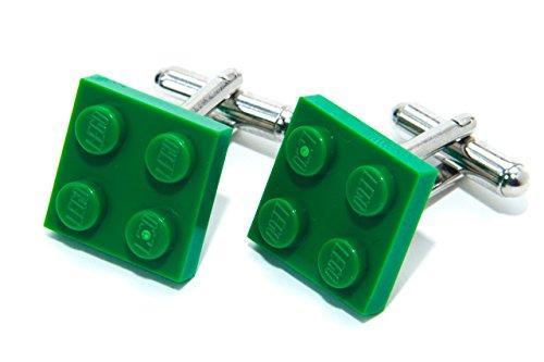Verde auténtica placa Lego Gemelos-Funky Retro