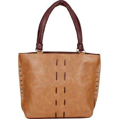Kawtra Pu Leather Women\'s Shoulder Hand Bag - Brown 42