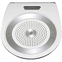 Kwolf - Altavoz Bluetooth para Coche, Kit de Altavoz, inalámbrico, Movimiento, Auto Encendido, Manos Libres, Adaptador de Audio y música inalámbrico