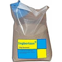 Ingbertson 25kg Quarzsand 0,4-0,8mm Sand für Sandfilteranlage
