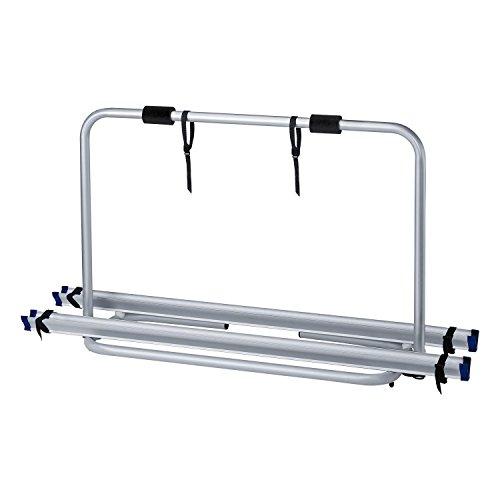 Preisvergleich Produktbild Berger Deichselträger Caravan Sport,  für 2 Fahrräder,  Silber,  Tragkraft 40 kg,  Aluminium,  Fahrradträger