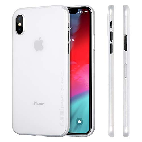 4c0d79cbc1b memumi Funda para iPhone XS, 0.3 mm Ultra Slim Case Compatible con iPhone  XS Fundas 5.8