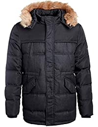 Pera Long Manteau Avec Grise Mi Teddy Noir Smith Capuche w7ESqwCT