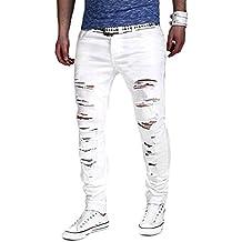Amazon.it: pantaloni jeans strappati uomo