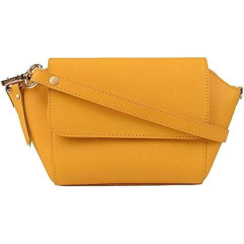 Borsa Pochette Sabrina giallo ALMA S10879 pelle, colore: giallo