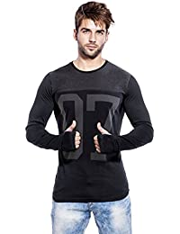 Maniac Men's Cotton T-Shirt (Men-Ss18-Thumb-Ring-07)