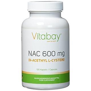 NAC - N-Acethyl L-Cystein 600 mg - 120 Kapseln