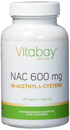 NAC - N-acetilo L-cisteína 600 mg - 120 Cápsulas El pulmón es uno de los órganos más sensibles más importante y, sin embargo en nuestro cuerpo. Desafortunadamente, numerosas influencias ambientales, así como acciones específicas, como fumar, ejercen ...
