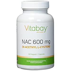 NAC – N-Acethyl L-Cystein 600 mg – 120 Kapseln