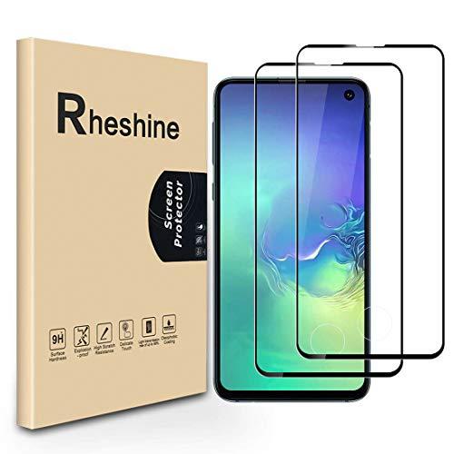 RHESHINE Schutzfolie Panzerglas für Samsung Galaxy S10e [2 Stück],9H Hartglas Displayschutzfolie für Galaxy S10E [Vollständige Abdeckung] [Anti-Kratzen] [Anti-Bläschen] Panzerglasfolie für S10 Lite -