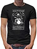 Touchlines Da Vinci Beats T-Shirt Herren XXXXL Schwarz