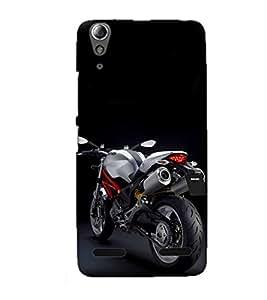 Doyen Creations Designer Printed High Quality Premium case Back Cover For Lenovo A6000 Plus