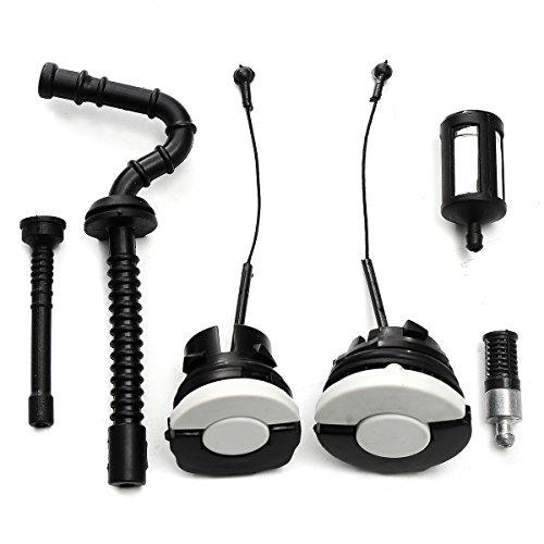 Wooya Kit D'Accessoires De Tondeuses À Gazon 6Pcs pour Stihl Ms181 Ms192T Ms200 Ms210 Ms230 Ms250
