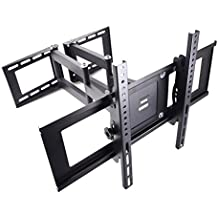 Sunydeal TV Soporte de pared ESA 600 mm x 400 mm Máx.45 kg para TV 30-70 pulgadas pantalla LCD LED TV para Esquina con Cantilever Inclinación Giratorio para VIZIO D-Series, E-Series, M-Series, P-Series 30 32 39 40 42 43 46 47 48 49 50 55 60 65 70 pulgada Class Full Array LED Smart TV