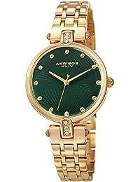 ff7074d01579 Akribos XXIV AK1085 - Reloj de Pulsera para Mujer (Cristales Swarovski