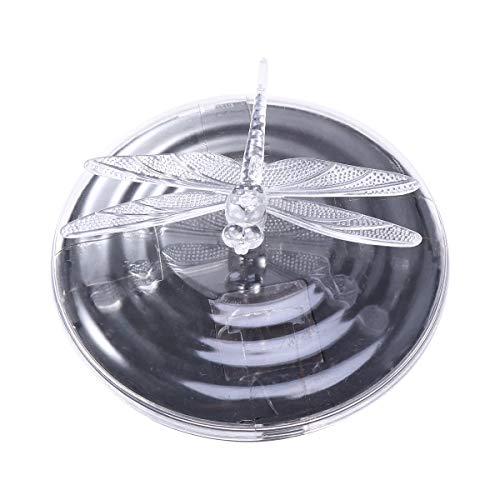 Mobestech Solar Schwimmende Teich Licht Wasserdichte Globe Nacht Pool Licht Lampe für Garten Schwimmbad Teich Party Wohnkultur (Libelle)
