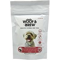 WOOF&BREW Herbal Dog Tea, Senior, 7 Bags